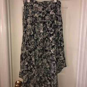 NWT High Low Skirt
